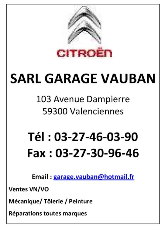 SARL GARAGE VAUBAN